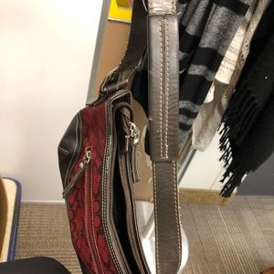 Bags - Red and brown purse